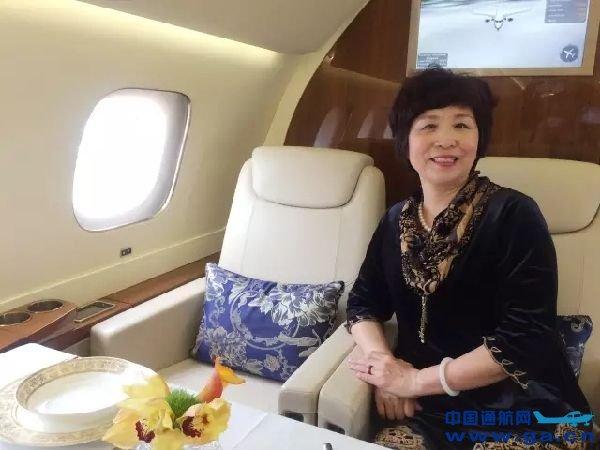 图:中国航空运输协会通用航空分会总干事王霞