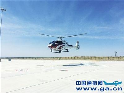 西部通航直升机首飞成功 银川迈入空中观光时代