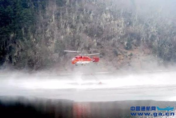 江西开展航空护林地面调查 考察直升机取水点等