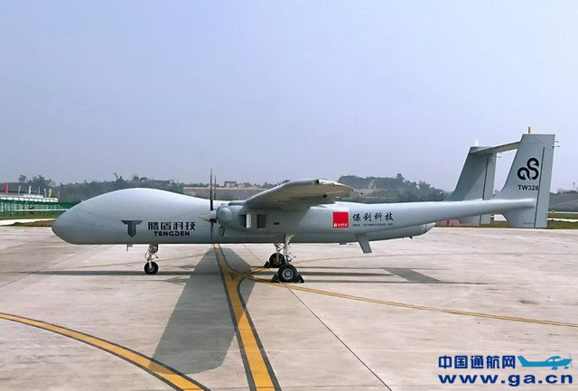 """中国西南航空公司_四川腾盾科技""""双尾蝎""""无人机成功首飞,开始批量交付用户 ..."""